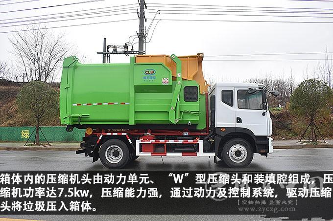 12方~18方移动压缩垃圾站功能评测