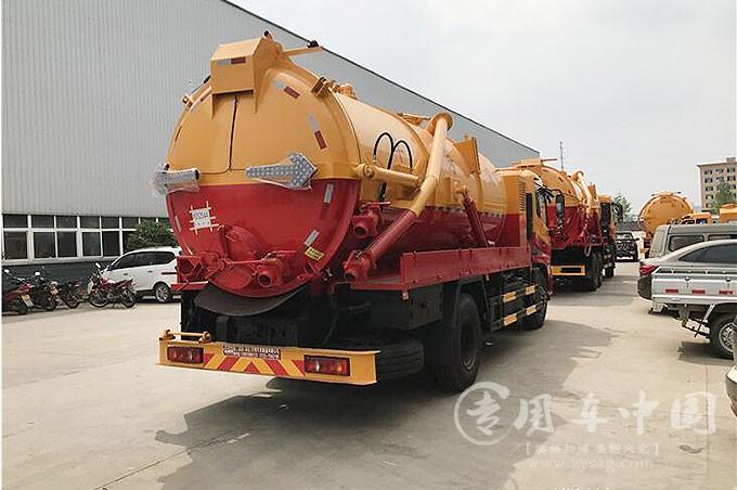 东风天锦12方吸污车厂家评测