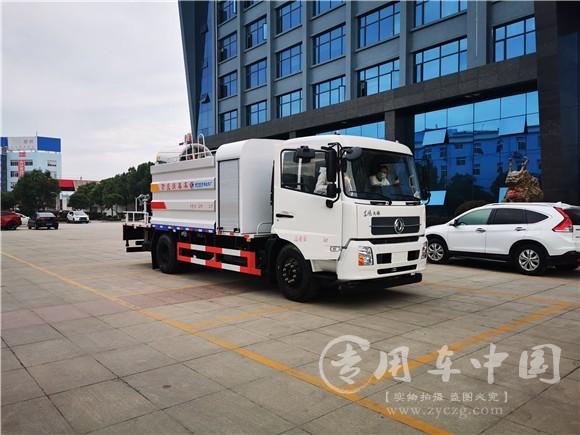 东风天锦100米防疫消毒车