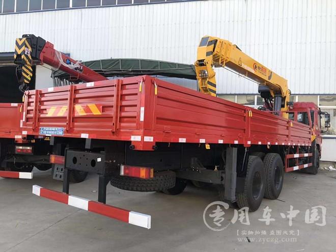东风华神新款F5程力12吨随车吊