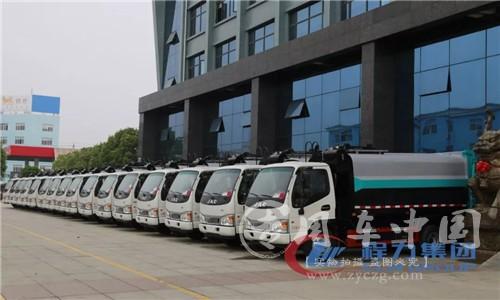 自装式垃圾车第三批采购订单圆满交付