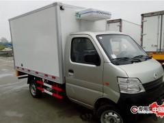 安徽客户自提长安2.8米小型冷藏车