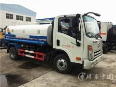程力洒水车厂家推荐之大运5吨绿化洒水车