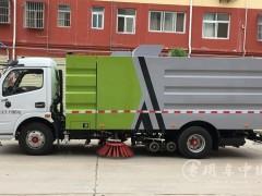 程力东风多利卡D6国六扫路车正在提车