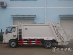 广西桂林东风6方压缩垃圾车环卫局采购10台