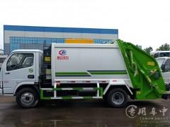 东风多利卡6立方压缩式垃圾车环卫环保公司首选评测