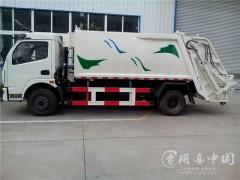 东风6方压缩垃圾车评测