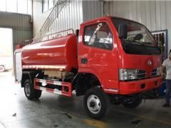 东风福瑞卡5吨四驱消防洒水车动态