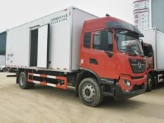 东风天锦KR7.88米国六冷藏车配置升级