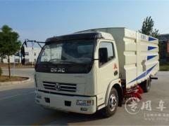 程力扫路车厂25台洗扫车及人行道养护车顺利发车广西南宁