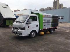 国六东风3立方小型清扫车生产下线了