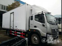 福田欧马可新款S3 4.2米冷藏车评测