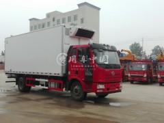 解放J6 7.5米冷藏车动态