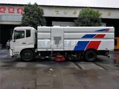 开封市公路局路面洗扫车顺利交付
