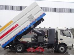 程力扫路车联合洒水,清洗,又一招标批量订单发车