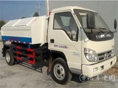 福田时代小卡5方车厢可卸式垃圾车评测