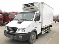 依维柯X45厢长3.5米冷藏车动态
