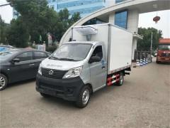 长安2.8米小型冷藏车安徽客户提回家