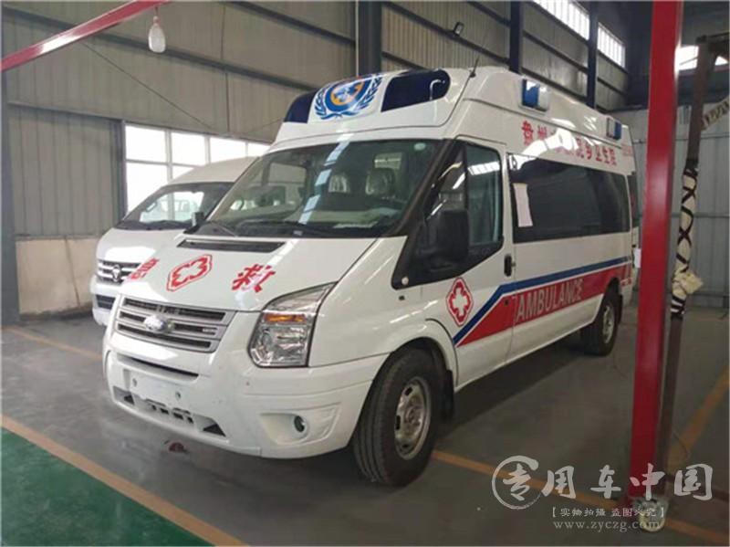 福特新世代V348救护车图片