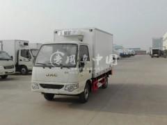 湖南江淮小型冷藏车王老板对效果很满意