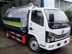 东风国六清洗吸污车