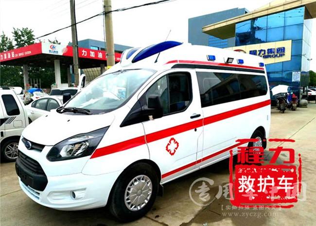 带升降器转运救护车|一车多用