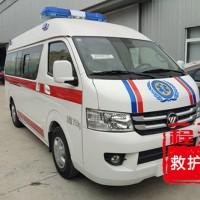 福田G7高顶转运救护车