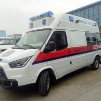江铃特顺长轴汽油转运型救护车