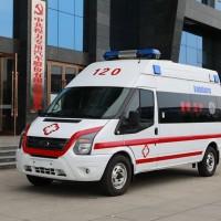 福特新世代短轴柴油转运型救护车