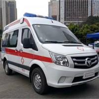 福田图雅诺监护型救护车