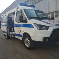江铃特顺短轴柴油监护型救护车