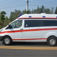 福特V362短轴中顶负压救护车