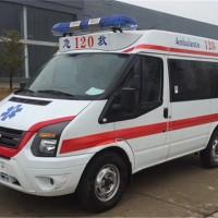福特V348短轴医疗救护车