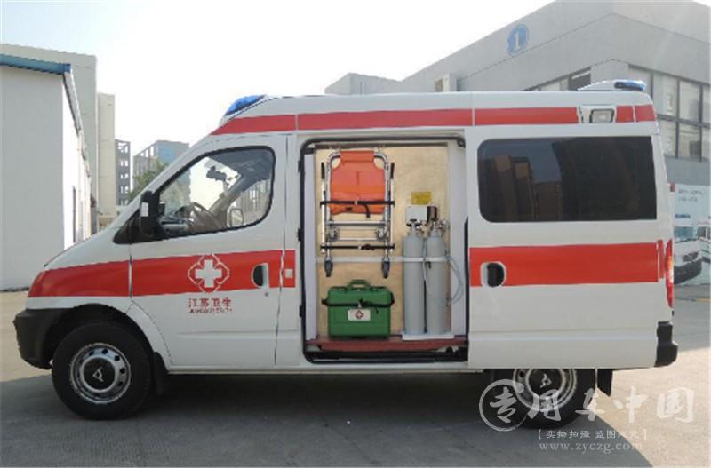 大通v80医疗救护车评测之将大空间运用到极致,救护车厂家专卖