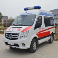 图雅诺短轴监护型福田救护车