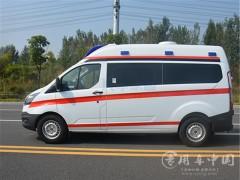 福特V348福星顶紧急救护车动态
