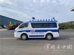 福田G7转运型救护车内饰评测