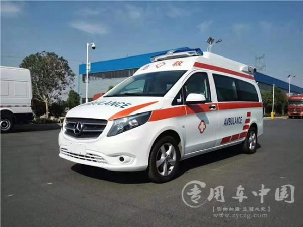 奔驰紧急救护车
