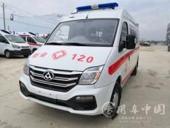不仅品质高而且油耗低!大通V80 120救护车评测