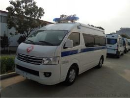 福田G9 120救护车