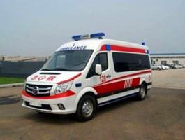 福田图雅诺120救护车
