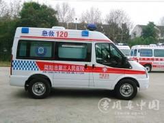 车型灵活,稳定性好的福特全顺救护车评测