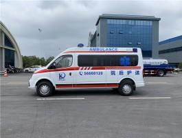 大通V80长轴120救护车