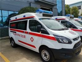 长轴全顺120救护车