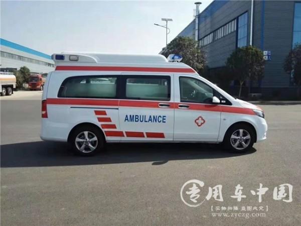 河北本长途奔驰救护车