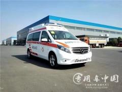 内蒙古奔驰救护车距离下线只剩一天
