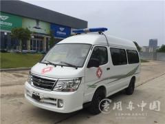 丰田海狮120救护车评测之精致的内饰,大气的外观