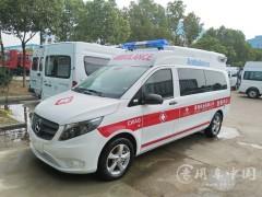 新款奔驰救护车的优点 ,空间大 配置齐全 安全有保障