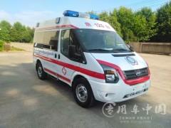 厂家定制,专业改装全顺救护车动态