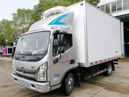 国六福田蓝牌冷藏车